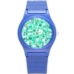 Heart 2014 0916 Round Plastic Sport Watch (s)