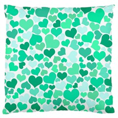 Heart 2014 0916 Large Flano Cushion Cases (two Sides)