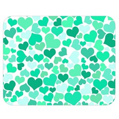Heart 2014 0916 Double Sided Flano Blanket (Medium)