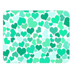 Heart 2014 0916 Double Sided Flano Blanket (large)