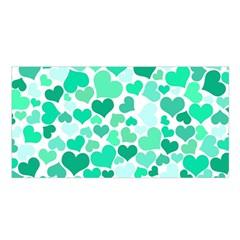 Heart 2014 0916 Satin Shawl