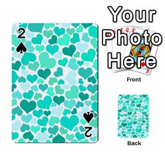 Heart 2014 0917 Playing Cards 54 Designs