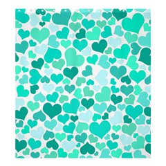Heart 2014 0917 Shower Curtain 66  x 72  (Large)