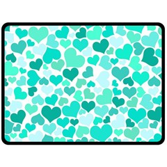 Heart 2014 0917 Fleece Blanket (large)