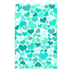 Heart 2014 0917 Shower Curtain 48  x 72  (Small)