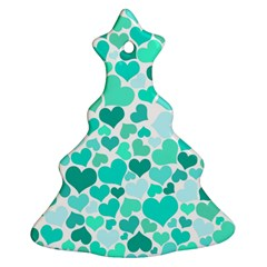 Heart 2014 0917 Christmas Tree Ornament (2 Sides)