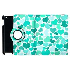 Heart 2014 0917 Apple Ipad 2 Flip 360 Case