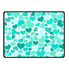 Heart 2014 0917 Double Sided Fleece Blanket (Small)