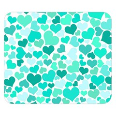 Heart 2014 0917 Double Sided Flano Blanket (small)
