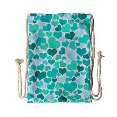 Heart 2014 0917 Drawstring Bag (Small)