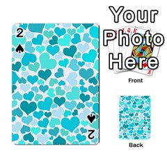 Heart 2014 0918 Playing Cards 54 Designs