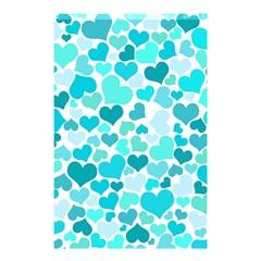 Heart 2014 0918 Shower Curtain 48  x 72  (Small)