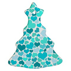 Heart 2014 0918 Christmas Tree Ornament (2 Sides)