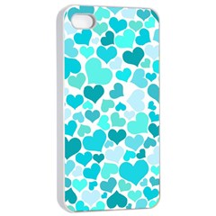 Heart 2014 0918 Apple iPhone 4/4s Seamless Case (White)