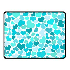 Heart 2014 0918 Double Sided Fleece Blanket (Small)