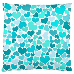 Heart 2014 0918 Large Flano Cushion Cases (Two Sides)