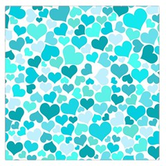 Heart 2014 0918 Large Satin Scarf (square)