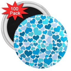Heart 2014 0919 3  Magnets (100 Pack)