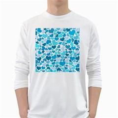 Heart 2014 0919 White Long Sleeve T Shirts
