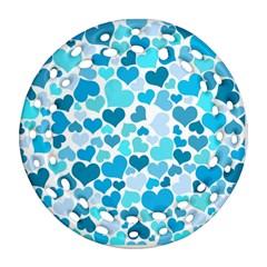 Heart 2014 0919 Ornament (Round Filigree)
