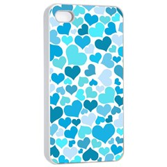 Heart 2014 0919 Apple Iphone 4/4s Seamless Case (white)