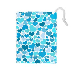Heart 2014 0919 Drawstring Pouches (large)