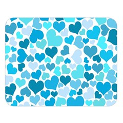 Heart 2014 0919 Double Sided Flano Blanket (large)