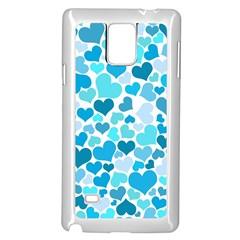 Heart 2014 0919 Samsung Galaxy Note 4 Case (White)