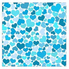 Heart 2014 0919 Large Satin Scarf (square)