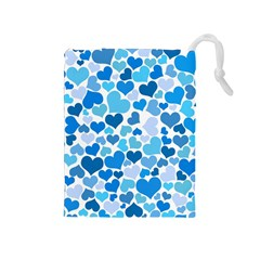 Heart 2014 0920 Drawstring Pouches (medium)