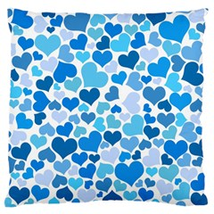 Heart 2014 0920 Standard Flano Cushion Cases (One Side)