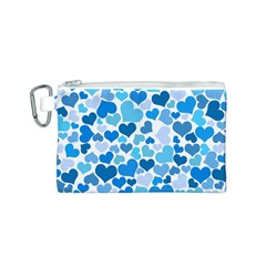 Heart 2014 0920 Canvas Cosmetic Bag (s)