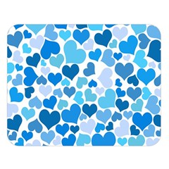 Heart 2014 0920 Double Sided Flano Blanket (Large)