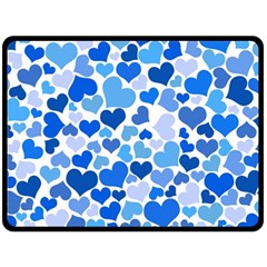 Heart 2014 0921 Fleece Blanket (Large)