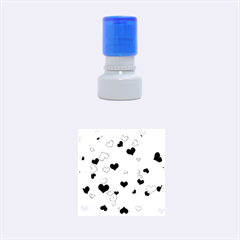 Heart 2014 0921 Rubber Round Stamps (Small)