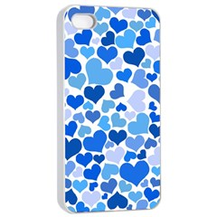 Heart 2014 0921 Apple iPhone 4/4s Seamless Case (White)