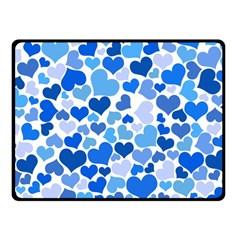 Heart 2014 0921 Double Sided Fleece Blanket (Small)
