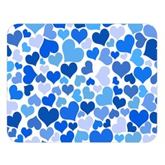 Heart 2014 0921 Double Sided Flano Blanket (large)