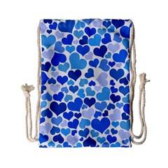 Heart 2014 0921 Drawstring Bag (Small)