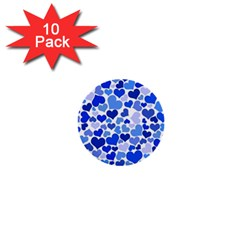 Heart 2014 0922 1  Mini Buttons (10 Pack)