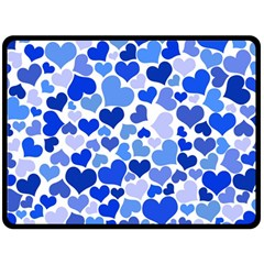Heart 2014 0922 Fleece Blanket (Large)