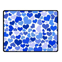 Heart 2014 0922 Fleece Blanket (small)