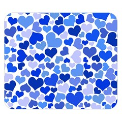 Heart 2014 0922 Double Sided Flano Blanket (small)