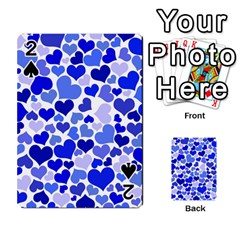 Heart 2014 0923 Playing Cards 54 Designs