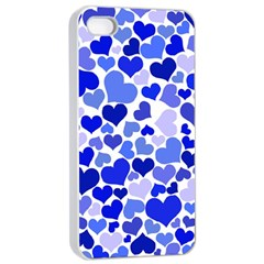Heart 2014 0923 Apple iPhone 4/4s Seamless Case (White)
