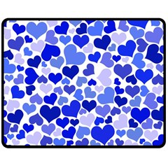 Heart 2014 0923 Double Sided Fleece Blanket (medium)