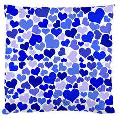 Heart 2014 0923 Large Flano Cushion Cases (One Side)