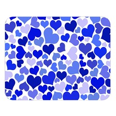Heart 2014 0923 Double Sided Flano Blanket (Large)