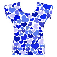 Heart 2014 0923 Women s Cap Sleeve Top