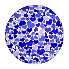 Heart 2014 0924 Ornament (Round Filigree)